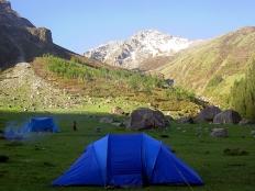 Camping at Nagaru