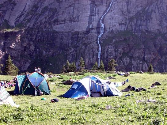 Camping at Tunda Bhuj