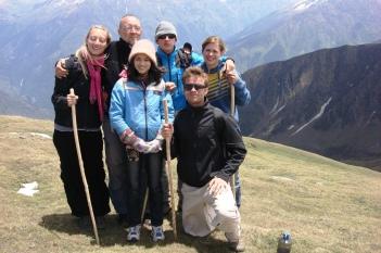 Crossing Sar Pass